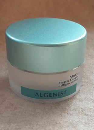 Ночной антивозрастной крем с коллагеном и керамидами algenist