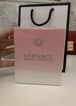 Женские духи на подарочек versace bright crystal новые 90 мл3 фото