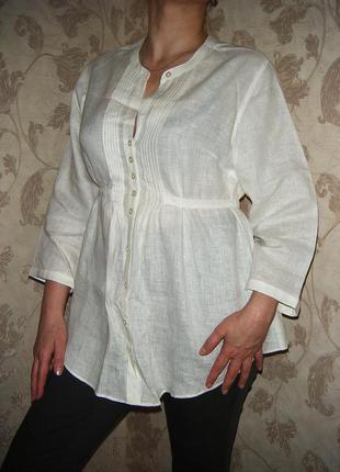 Блуза льняная новая (не секонд)