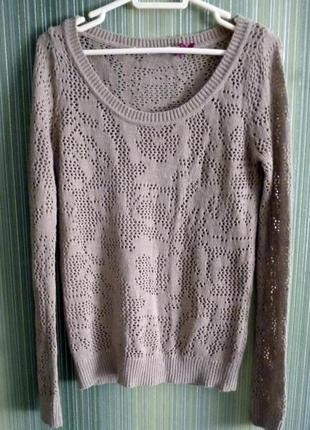 Ажурный легкий свитер stradivarius