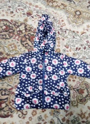 Куртка для девочки 98-110