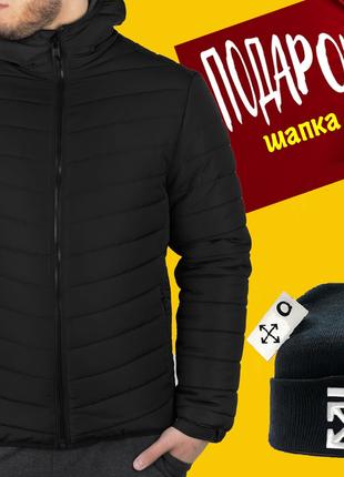 Мужская куртка puma зимняя + шапка в подарок от 55 кг до 78 кг