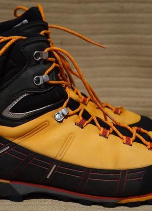 Высокие трекинговые ботинки mammut kento high gtx 44 р. ( 27 см.)