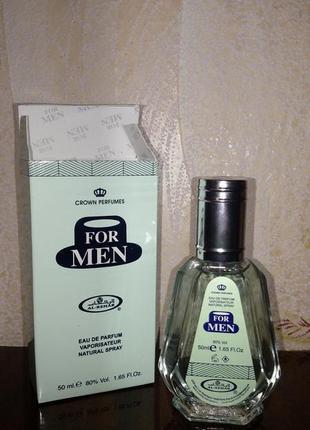 Арабская парфюмированная вода al rehab for men.