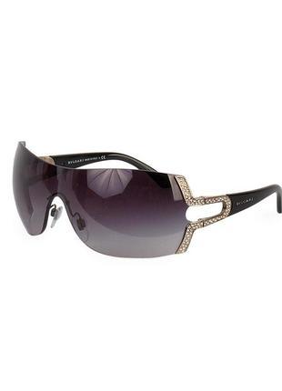 Солнцезащитные очки bvlgari 6038b 103-8g с камнями swarovski