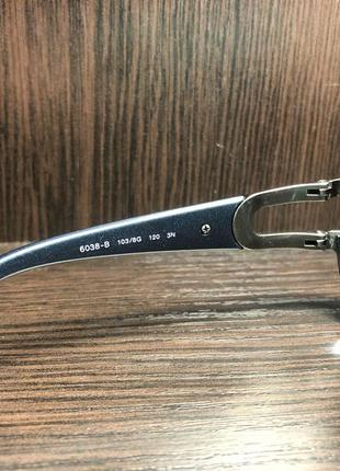 Солнцезащитные очки bvlgari 6038b 103-8g с камнями swarovski8 фото