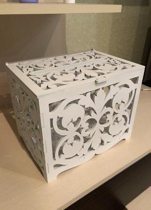 Сриня для конвертів ; судук для конвертов ; коробка для денег