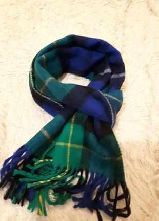 Итальянский стильный мужской шарф/мега стильный и комфортный