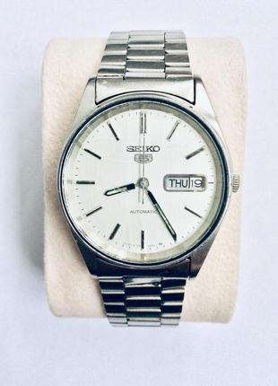Часы seiko 5 {механічний} годинник
