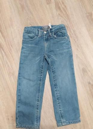 Джинси утеплені, джинс