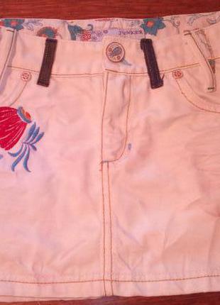 Юбка джинсовая junker