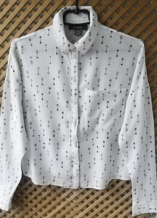 Легкая рубашечка в принт