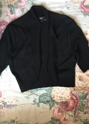 Укороченная кофта-накидка на плечи болеро