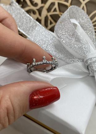 Кольцо « короны» серебро s925