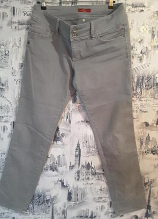 Брюки - джинсы s.oliver uk 14, модель shape slim