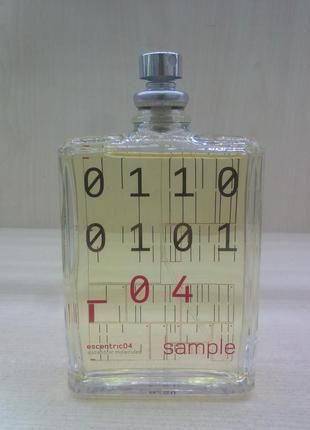 Tester escentric molecule escentric 04, 100 мл