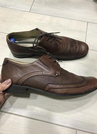 Туфли кожаные 41 размер