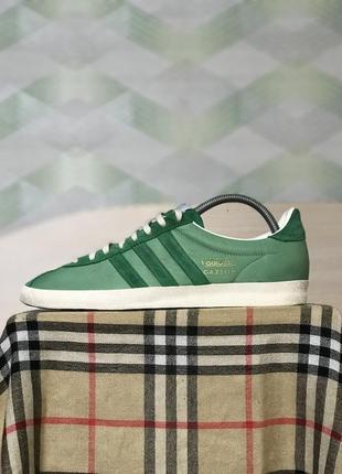 Кроссовки кеды adidas gazelle зелёные размер 42