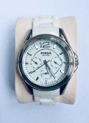 Часы fossil ce1002 {оригинал} сша,керамика