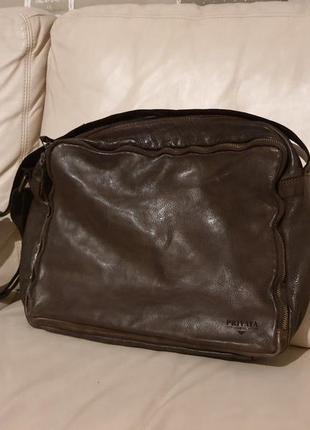 Кожаная сумка премиум качества privata