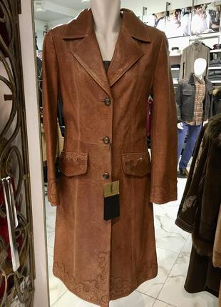 Levinson кожаное пальто