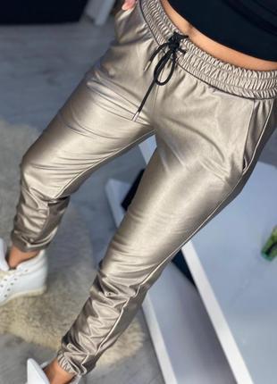 Стильные женские повседневные брюки на меху