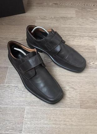 Hotter comfort concern кожаные туфли 46р