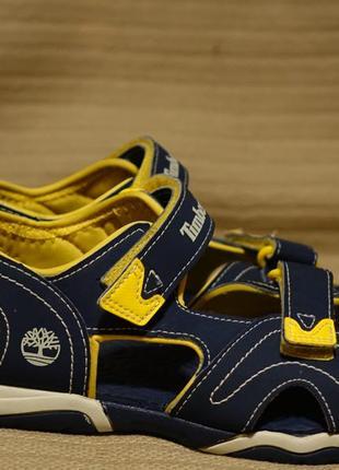 Фирменные темно-синие сандалики - аквашузы timberland сша 37 р.