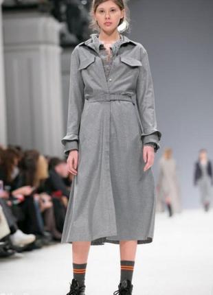Шелковое платье-рубашка лилии пустовит размер 36 на xs-s
