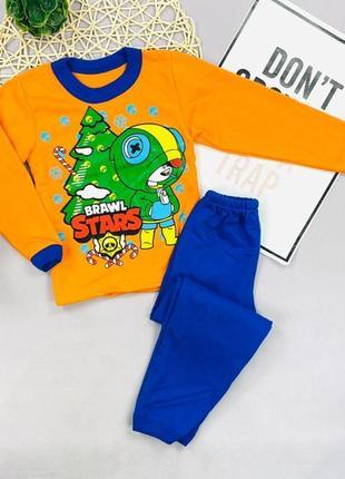 Пижама с начесом brawl stars