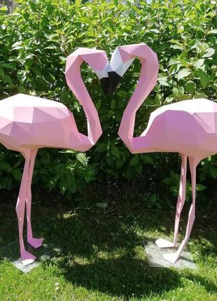 Декор для дома и фотосессии розовый фламинго