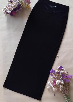 Восхитительная юбка из бархата