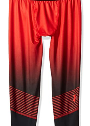 Леггинсы under armor boys' heatgear armour printed ¾ leggings