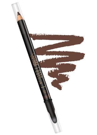 Акция! карандаш для глаз deep colour № 22 - шоколадно-коричневый4 фото