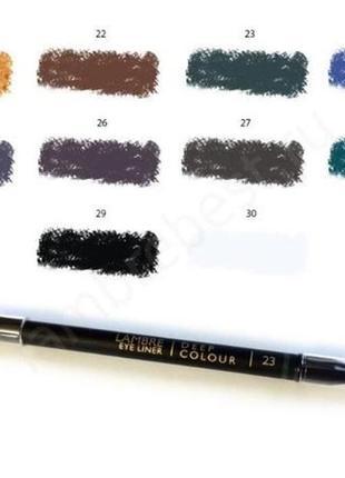 Акция! карандаш для глаз deep colour № 22 - шоколадно-коричневый8 фото