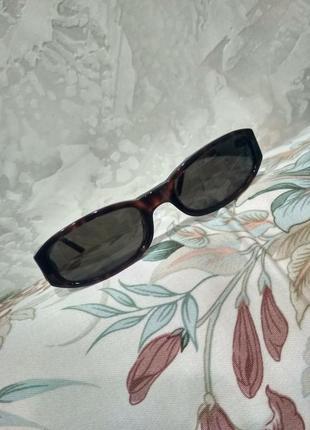 Винтажные женские солнцезащитные очки emporio armani