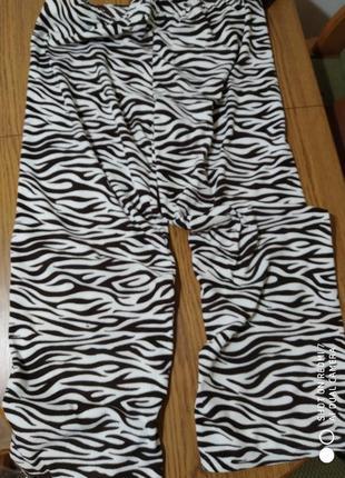 Домашні-піжамні флісові штанці