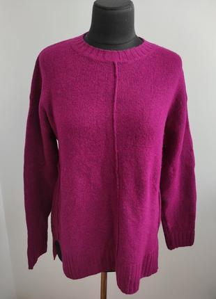 Яркий мягкий свитер под горло 18 р от marks&spenser