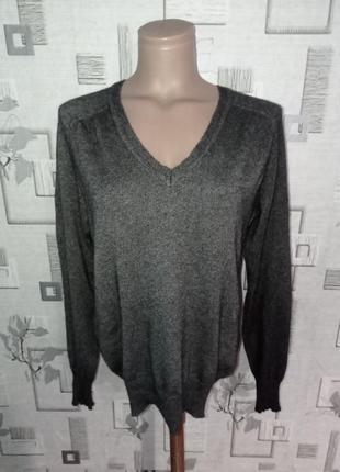 Шелково кашемировый джемпер свитер пуловер