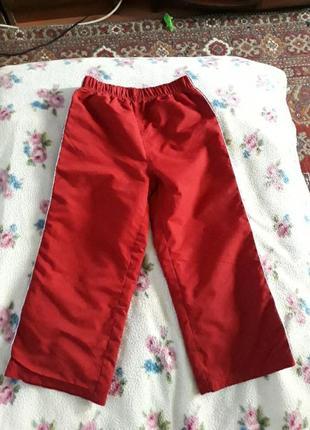 Спортивные штаны на 3-5 года, возможен торг