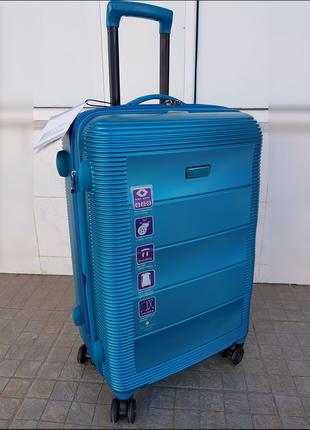 Антиударный чемодан из поликарбонат snowball 74103 (франция)
