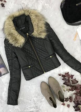 Укороченная куртка с мехом воротником  ov1844037miss selfridge