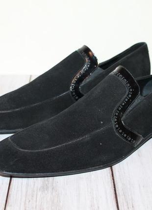 Мужские замшевые туфли avvenente 45 размер
