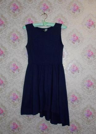 Стильное платье от h&m ассиметричного кроя