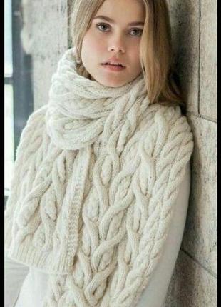 Шарфы зимние крупной вязки 2020 - купить недорого вещи в интернет-магазине Киева и Украины | Shafa