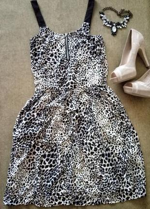 Платье, сарафан на змейке с карманами