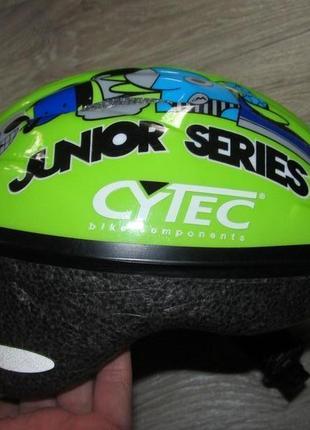 Велосипедный шлем cytec р.s обьем 48-52см