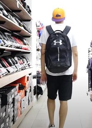 Мужской спортивный рюкзак under armour hustle 3.0