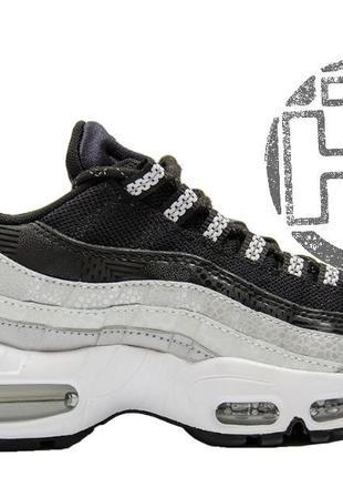 Nike air max 95 black/gray/white 814914-001