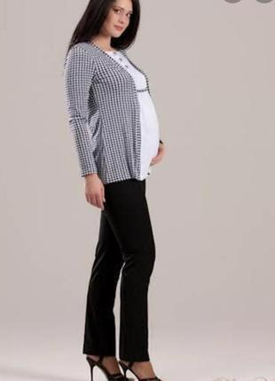 Классические брюки для беременных # одежда для беременных # new look
